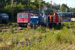 loks-der-rbh/593625/155-033-4-und-rbh830-gladbeck-west-02072014 155 033-4 und RBH830 Gladbeck-West 02.07.2014